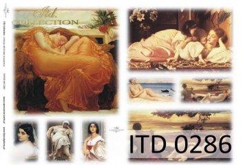 Decoupage Paper ITD D0286M