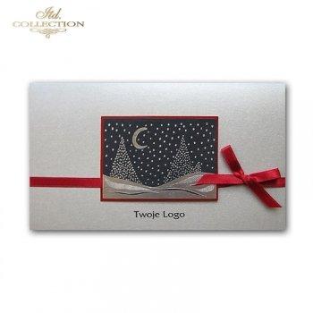 Christmas cards for business / Christmas card K454