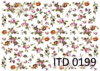 Decoupage paper ITD D0199