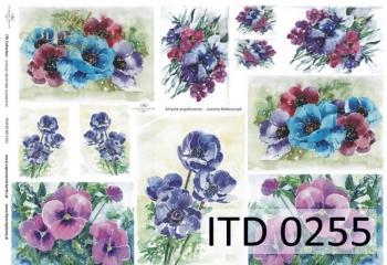 Decoupage paper ITD D0255M