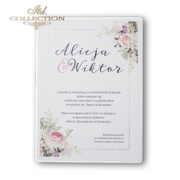 Invitations / Wedding Invitation 2076