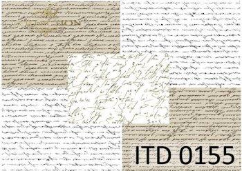 Decoupage paper ITD 0155M
