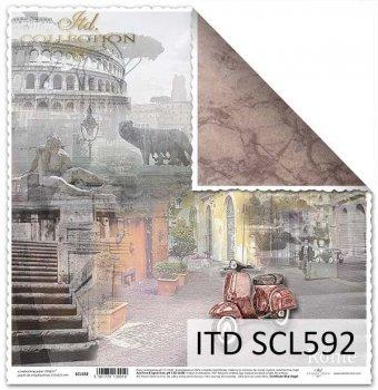 scrapbooking paper SCL592