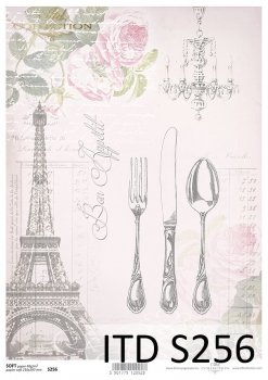 Decoupage paper Soft ITD S0256
