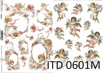 Decoupage paper ITD D0601M