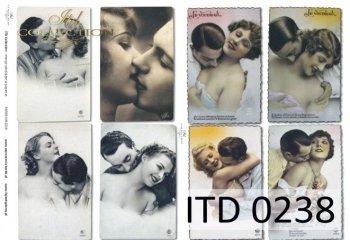 Decoupage paper ITD D0238M