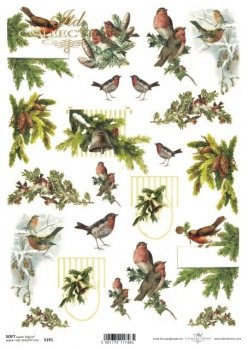 Decoupage paper Soft ITD S0191