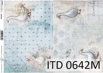 Decoupage paper ITD D0642M