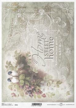 Rice paper R0722