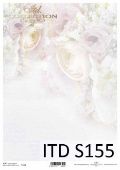 Decoupage paper Soft ITD S0155