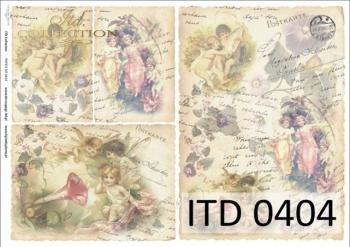 Decoupage paper ITD D0404M