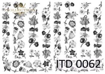 Decoupage paper ITD 0062M