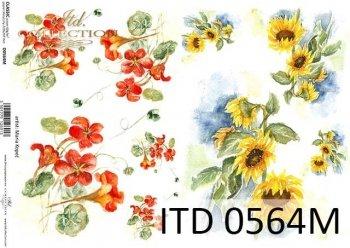 Decoupage paper ITD D0564M