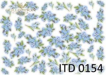 Decoupage paper ITD 0154M