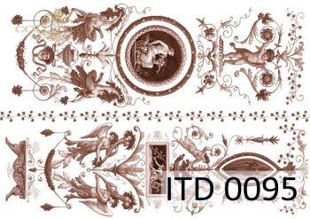 Decoupage paper ITD 0095M