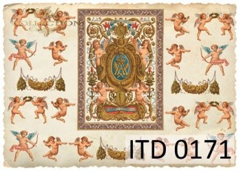 Decoupage paper ITD D0171M