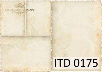 Decoupage paper ITD D0175M