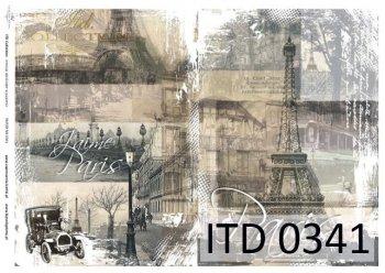 Decoupage paper ITD D0341M