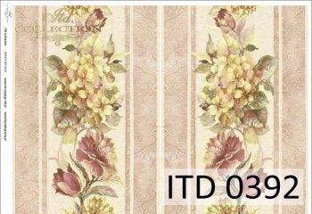 Decoupage paper ITD D0392M