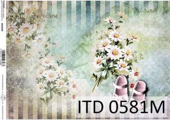 Decoupage paper ITD D0581M