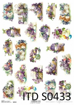 Decoupage paper Soft ITD S0433