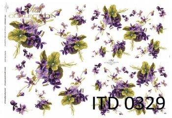 Decoupage paper ITD D0329M