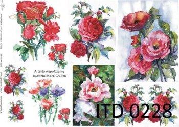 Decoupage paper ITD D0228M