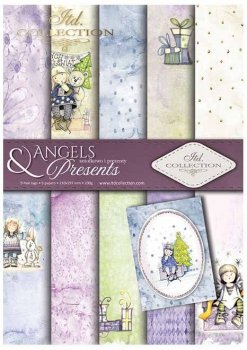 Scrapbooking papers SCRAP-022 ''Angels & Presents''