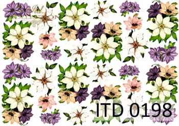 Decoupage paper ITD D0198