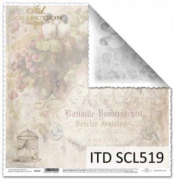 scrapbooking paper SCL519