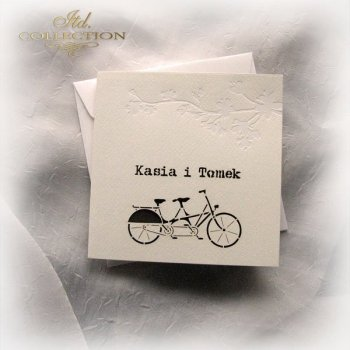 Invitations / Wedding Invitation 1723_32_brown