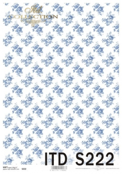 Decoupage paper Soft ITD S0222
