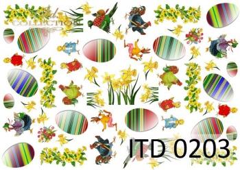 Decoupage paper ITD D0203M