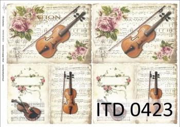 Decoupage paper ITD D0423M
