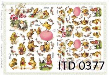 Decoupage paper ITD D0377M