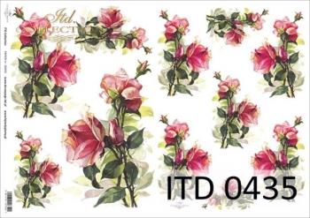 Decoupage paper ITD D0435M