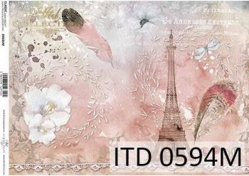 Decoupage paper ITD D0594M