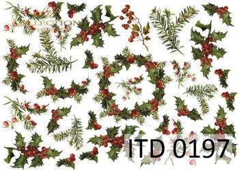 Decoupage paper ITD D0197M