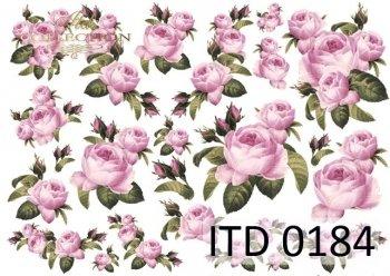 Decoupage paper ITD D0184
