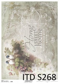Decoupage paper Soft ITD S0268