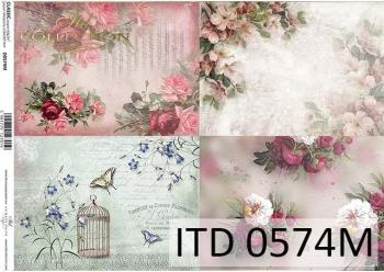 Decoupage paper ITD D0574M