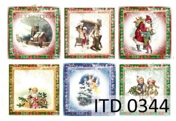 Decoupage paper ITD D0344