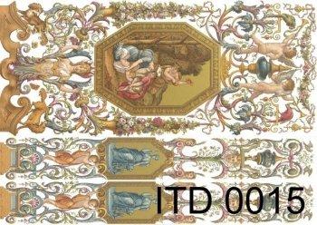Decoupage paper ITD D0015M