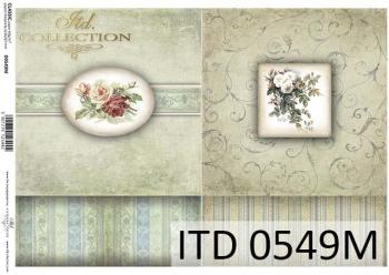 Decoupage paper ITD D0549M