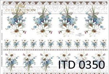 Decoupage paper ITD D0350