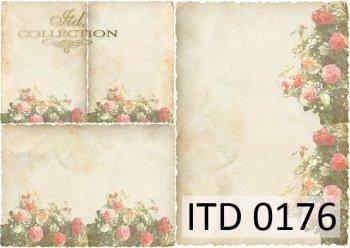 Decoupage paper ITD D0176M
