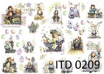Decoupage paper ITD D0209