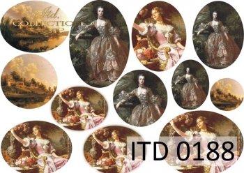 Decoupage paper ITD D0188M
