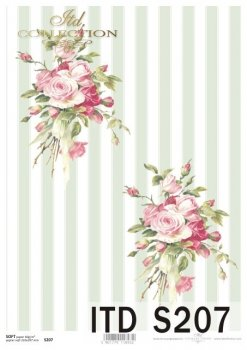 Decoupage paper Soft ITD S0207