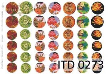 Decoupage paper ITD D0273M